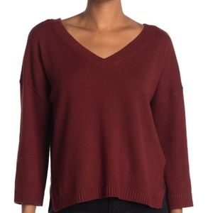 MADEWELL Double V Pullover Sweater 2X